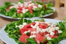 salades sucré salé