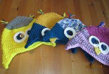Crocheteando y algo más... / Con agujas, lanas e hilos se despliega la imaginación y se logran cosas hermosas!
