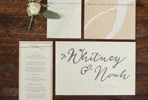 Elegant Invitations / by Pauleenanne Design