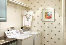 Laundry Room Decorating Ideas / by Nicole McDaniel