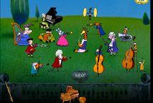 hudební hry na počítači