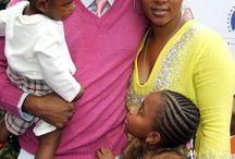 Black celebrity families