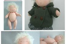 dolls. / by Chantal Ernens-Maes