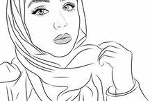 Hijab draw