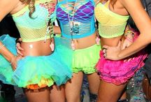 Rave - This is me / Rave outfits, colors, lights, make up, music, love