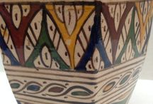 fes HANDPAINTED POTTERY