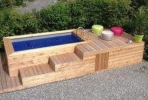 drevený bazen