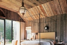 Log Home Bedrooms / by LogFinish.com