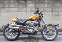 2001 H-D XL1200S SPORTSTER CUSTOM Flattracker / 2001年スポーツスターXL1200Sをベースにモミアゲスピード モーターサイクルズがダートトラックカスタム製作した一台 モミアゲハンサム16号