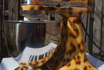 KitchenAid custom leopard / airbrush by JohnFTW ©2014