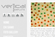 verticalTemplate / Template Gratuito con Navigazione Verticale Animata