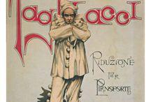 Opera posters. Pagliacci
