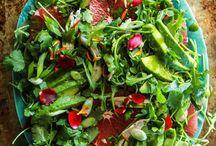 •s a l a d• / salad salat