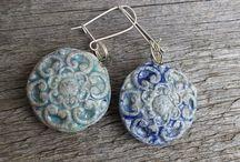 Ceramic earring