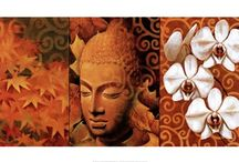 Buddha and Zen Art Prints / Decorate your home with a zen-like ambiance. Find art prints that feature Buddha, Buddhism and spiritual themes.  / by Bandaged Ear