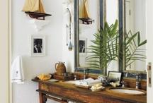 Salon/escalier/banquette