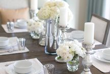 Dining table decoration