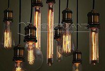 vintage thomas edson lamps