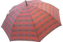 Tartan Umbrellas by Chantam / Tartan Umbrellas