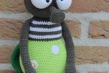 Amigurumi .Crochet toys / by Norma Bring