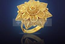Gold rings