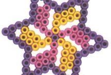 Sterretjes strijkkralen patronen