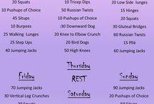 week fitness planning