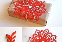 подарки и упаковка