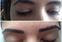 Permanent makeup / tatto / Permanent makeup, eyebrow contour kalıcı makyaj , dövme