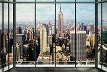 FOTOMURALES NUEVA YORK / Fotomurales de la ciudad de Nueva York, una de las ciudades más fotografiadas del mundo con sus emblemáticos edificios ideales para una decoración actual y diferente.