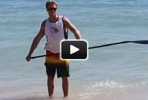 SUP tips: Instructional videos / How to Stand Up Paddleboard- instructions and tips for beginners and intermediate paddles.
