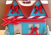 Red and Teal Christmas