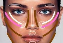 How to Contour / How to contour using bronzers, highlighters and concealer.