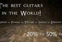 Guitars.shopnbuystore.com - New! / The best Guitars on the planet up to 50% off! Taylor, Gibson, Fender, Ibanez, Epiphone ~ Hundreds of effects.