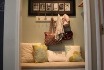 Mud room / Decor makeover ideas for mud room