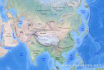 Földrajz térképek