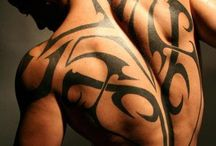 Tattoo for guys / Tattoo for guys on the back side.