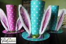 Freya's Easter Bonnets