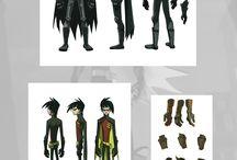 Character Model Sheets