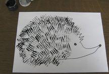 Рисуем вилкой