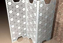 Lace Screens and room dividers