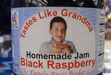 Hilarious Food Labels / Hilarious & Strange Food Labels