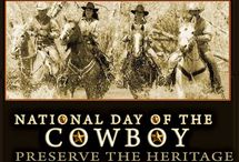 The National Day of the Cowboy / NDOC is about the preservation of America's Cowboy heritage so that the history and culture which the United States Congress's National Day of the Cowboy resolution honors, can be shared and perpetuated for the public good, through education, the arts, celebrations, gatherings, rodeos, and community activities.