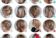 Beleza nos cabelos / Lindas tranças