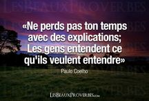 Citations, proverbes...