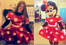 Mickey & Minnie Unmasked / The dressing Mickey Mouse & Minnie Mouse unmasked.