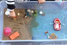 Bricolages d'été / Bricolages sur le thème de l'été. Summer craft for kids