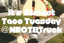 Taco Tuesday / Taco tuesday celebration with the food truck in Boston