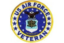 """Biker Patches - Air Force Patches / Great Selection of US Air Force patches from TheCheapPlace.com for USAF veterans. Wear these patches proudly on your clothes and let's make other to know your service. Different designs from simple black and white """"Airborne"""" rocker patch to a circle patch bearing the USAF logo are available to make your clothes more personalized look. They can easily fix on any kind of fabric.  / by The Cheap Place"""