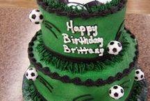 Voetbal verjaardagstaarten
